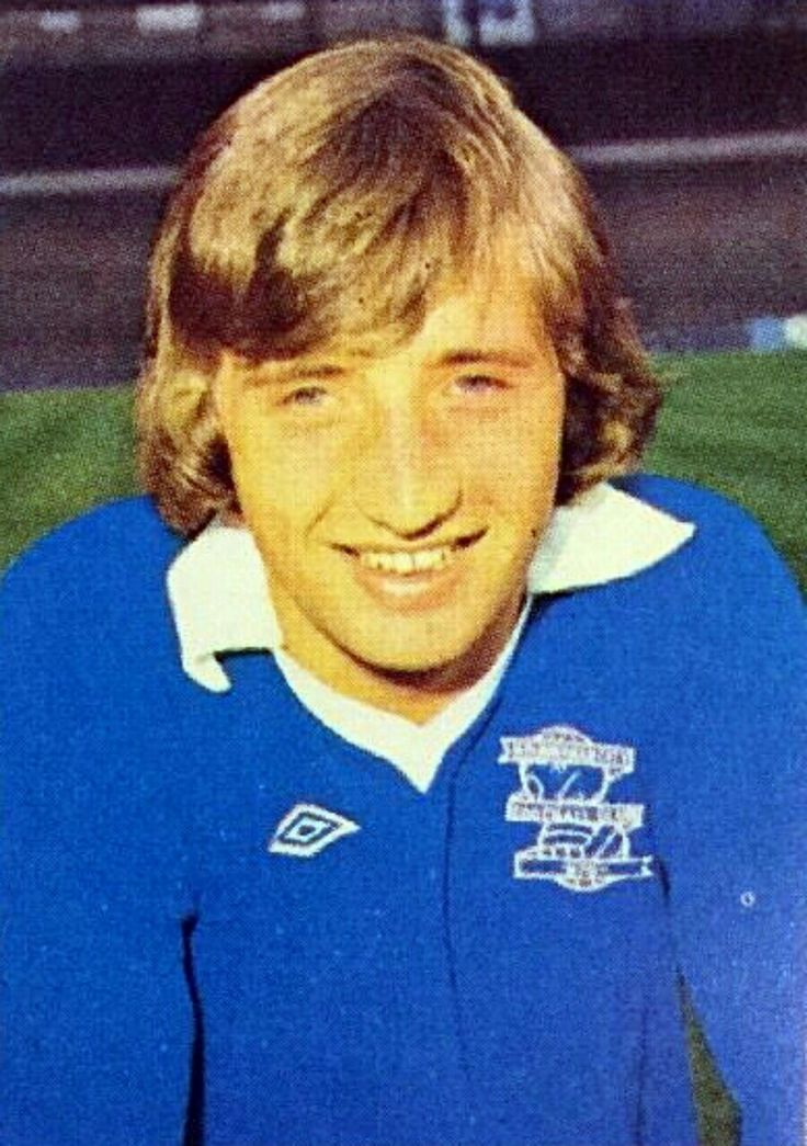 Jimmy Calderwood of Birmingham City in 1976.