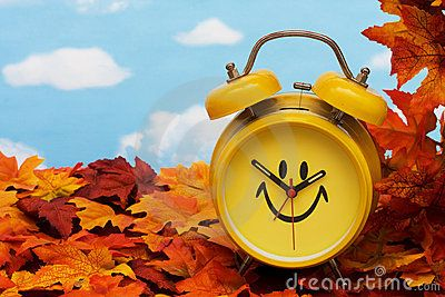 Fall Back Time Change Stock Photography - Image: 6615532