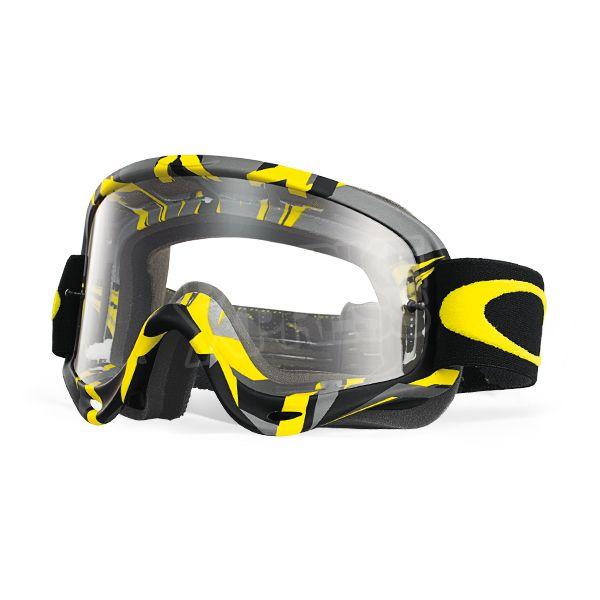 Oakley O Frame Goggles - Intimidator Gunmetal Yellow