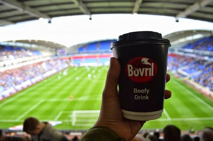 Bovril - Nothing is more welcoming on cold winters night at the game than a hot cup of Bovril.  I still haven't got a right lot of hairs on my chest though!