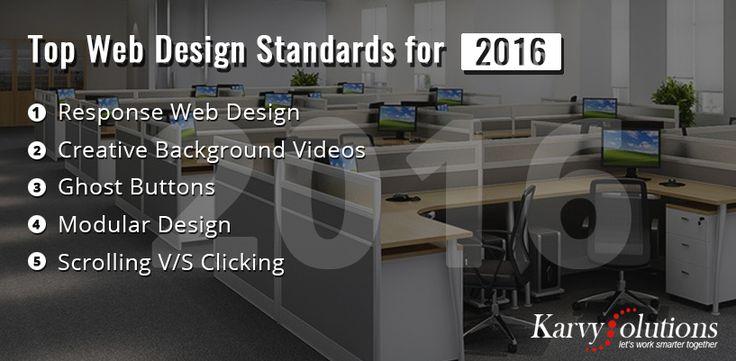 Top Web Design Standards for 2016