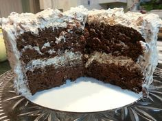 HERSHEY BAR CAKE :http://recipescool.com/hershey-bar-cake-2/
