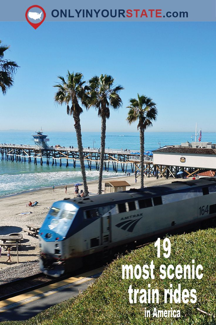 Travel | USA | America | Scenic Train Rides | Trains Across America | Beautiful Train Rides | Trips | Getaways | Vacations | Overnights | Explore