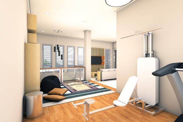 Rumah ini merupakan sebuah hunian keluarga modern dengan konsep arsitektur minimalis yang memiliki nuansa nyaman.