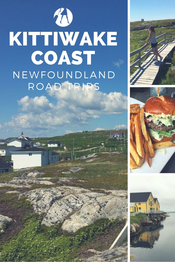 The Kittiwake Coast is a scenic drive in Newfoundland, Canada. With sandy beaches, cool vintage shops, and restaurants it makes a great weekend road trip.