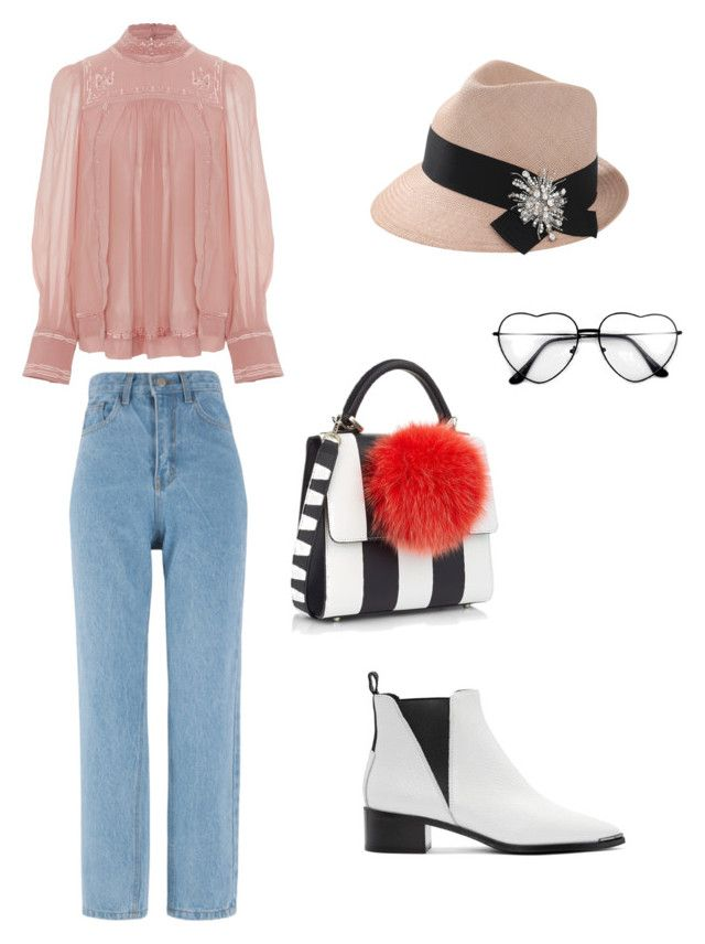 """Untitled #2"" by helen-jiang-1 on Polyvore featuring Acne Studios, Isabel Marant, Les Petits Joueurs and Brunello Cucinelli"