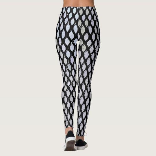#Light #blue #scales #pattern #regular #geometric #design #leggings #style #fashion #apparel