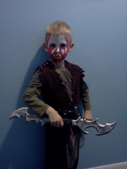 Orc Lotr Costume Kid's Orc c...