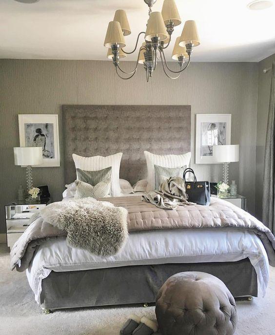 Designer Bedroom In Hotel Chic Grey: 428 Best Chic Bedrooms Images On Pinterest