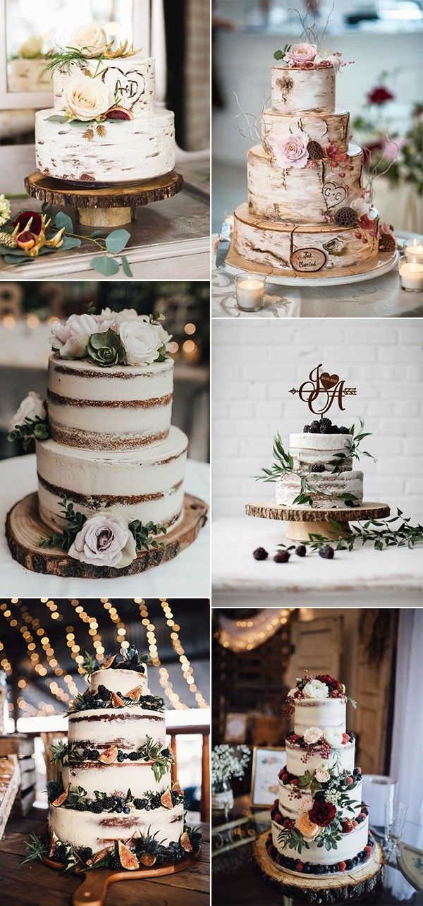 25 Trending Delicious Fall Wedding Cakes for 2019