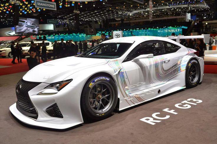 2015 Lexus RC F GT3 Racing Concept