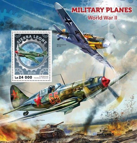 SRL16405b Military planes (WWII) (P-40 Warhawk Tomahawk / Kittyhawk)