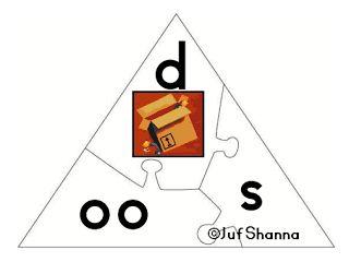 Veilig Leren Lezen puzzel - Woorden kern 3