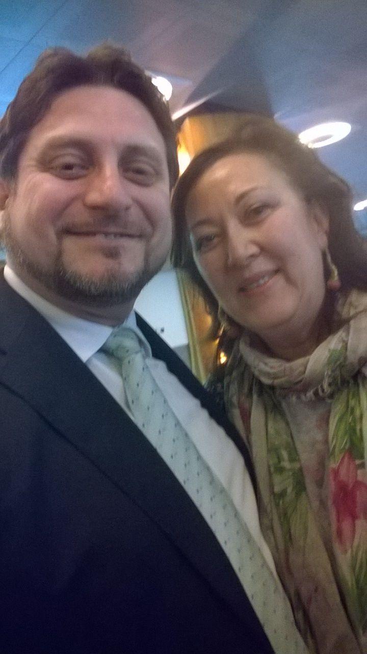 """Con Ardiana Wu, ex-organizer del Centro Studi Manageriali """"Raffaello Gattuso"""""""
