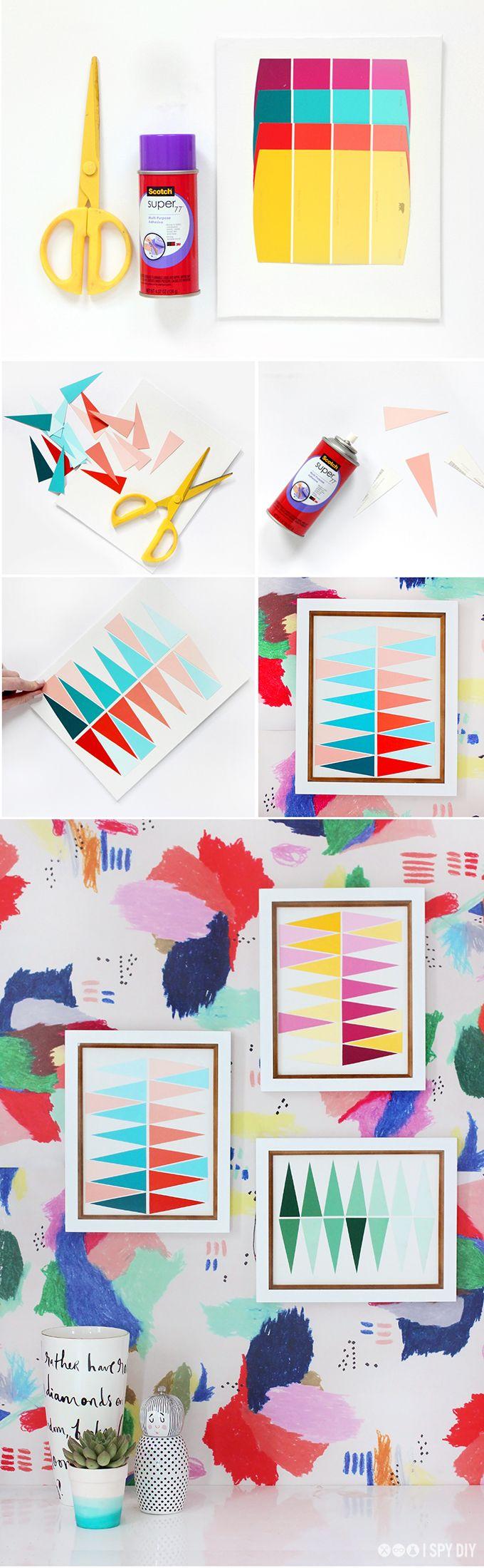 Geometric Gradient Color Story