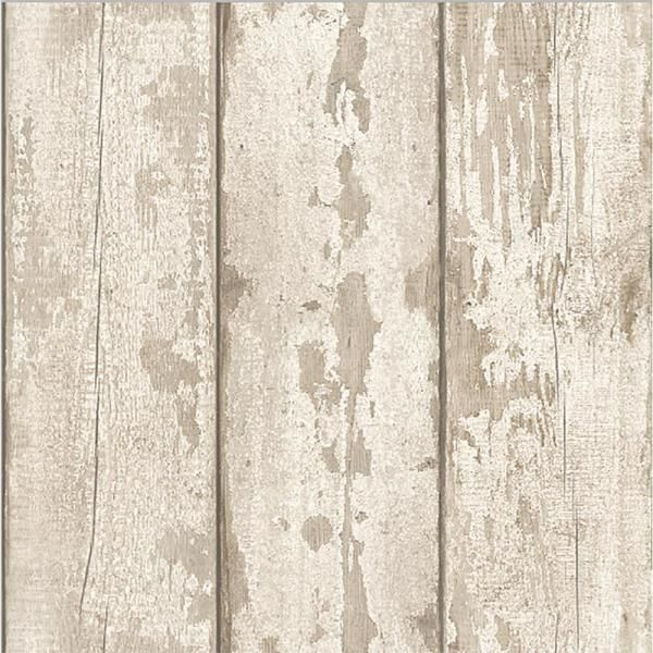 Arthouse White Washed Wood Paper Strippable Wallpaper Covers 57 Sq Ft 694700 The Home Depot Wood Effect Wallpaper White Washed Wood Paneling Wood Wallpaper