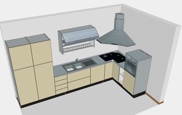 Cucine Con Piano Cottura Angolare Piano Cottura Mondo ...
