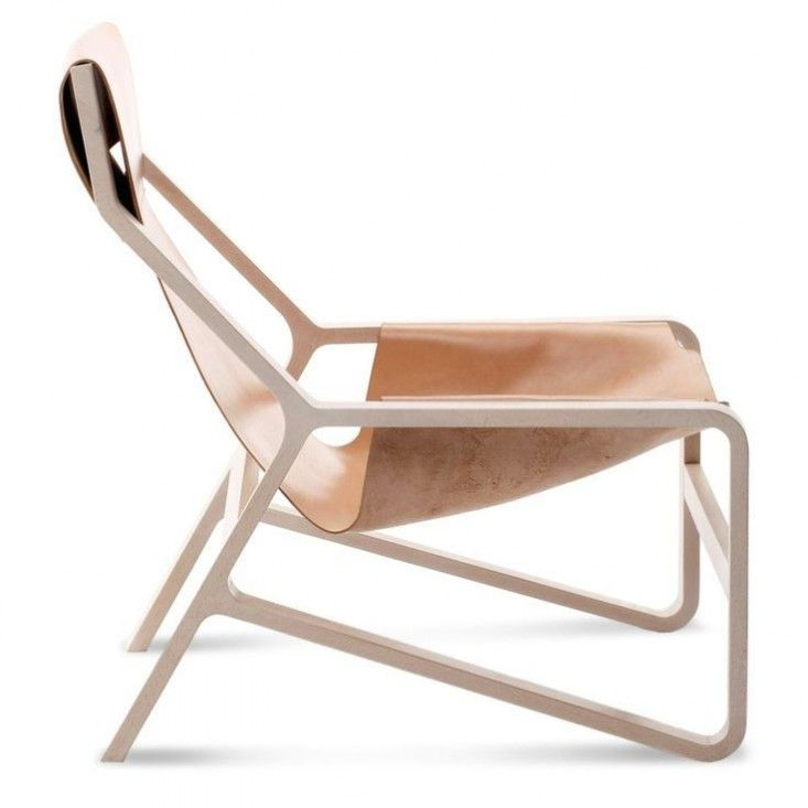 10 Easy Pieces: The New Pale Leather Lounge Chair