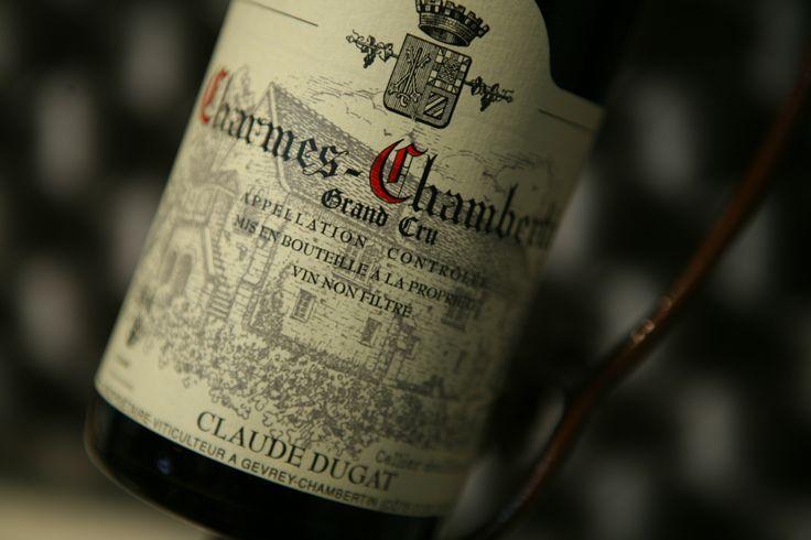 Charmes-Chambertin Grand Cru. Claude Dugat. Vin rouge de Bourgogne…