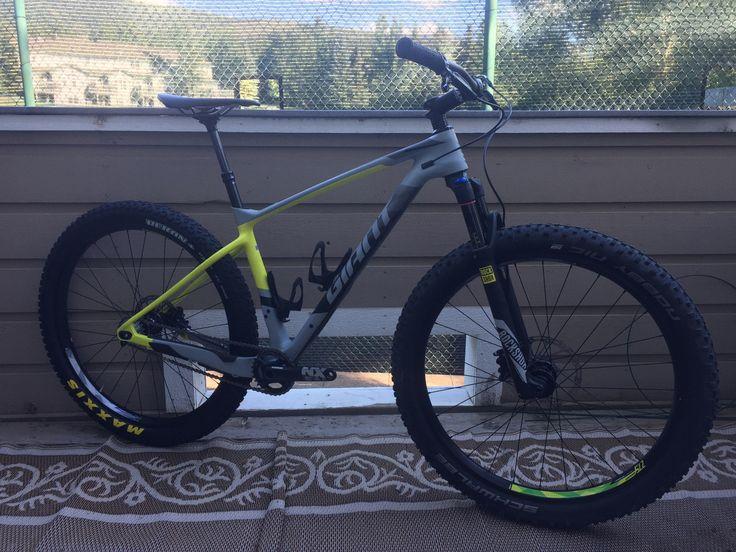 Giant XTC 27.5 Single Speed Mountain Bike Mens Medium