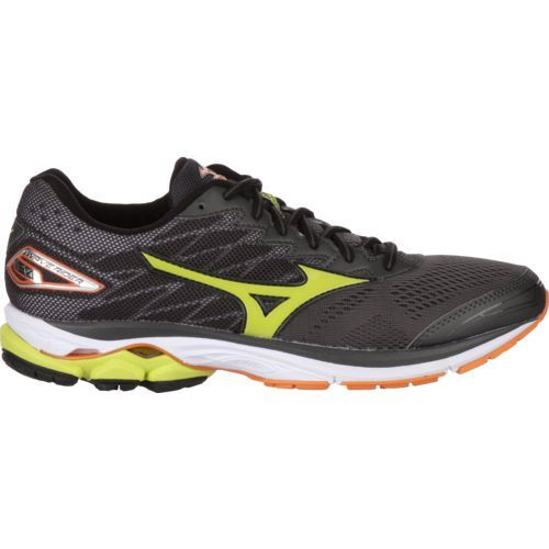 Mizuno™ Men's Wave Rider 20 Running Shoes (Grey/Yellow, Size 7) - Men's Running Shoes at Academy Sports