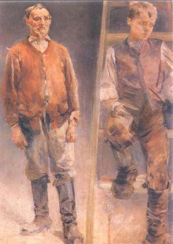 Jacek Malczewski - Models (1894)