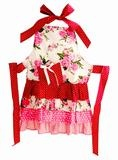 Frilly Milly Ladies Apron  Floral  alimrose.com.au