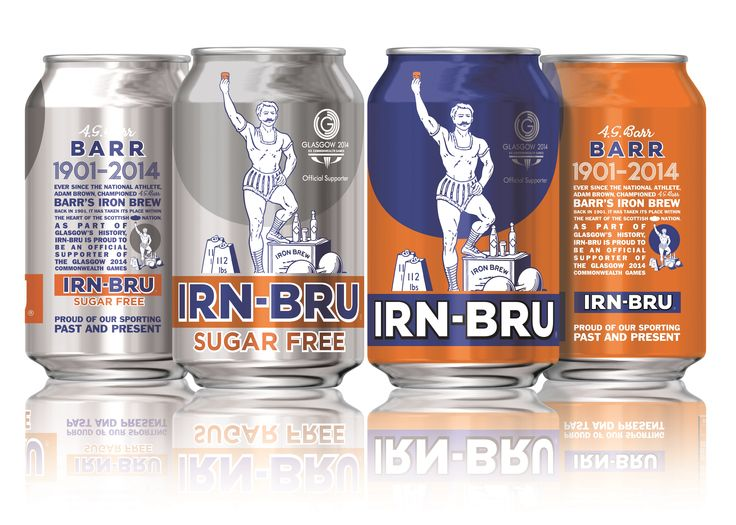 Irn-Bru unveils limited edition design for Glasgow 2014 Commonwealth Games. This fruity soft drink is so lovely. Try it if you can find it.