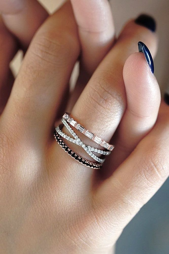 24 Unique Wedding Rings For Somebody Special In 2020 Cool Wedding Rings Pretty Wedding Rings Stylish Engagement Rings