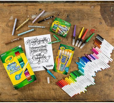 Crayoligraphy Calligraphy Kit-someone pleeeease buy me this for Christmas!!