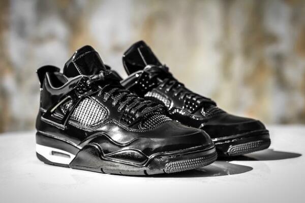 "Air Jordan 4 Retro 11Lab4 ""Black Patent Leather"" For Sale | Jordan ..."