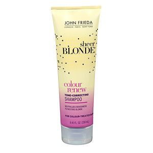 Buy John Frieda Sheer Blonde Color Renew Tone Correcting Shampoo with free shipping on orders over $35, low prices & product reviews | drugstore.com