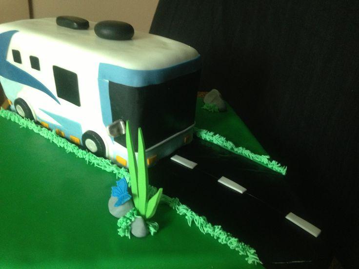 Rv Camping Cake Cake Ideas And Designs
