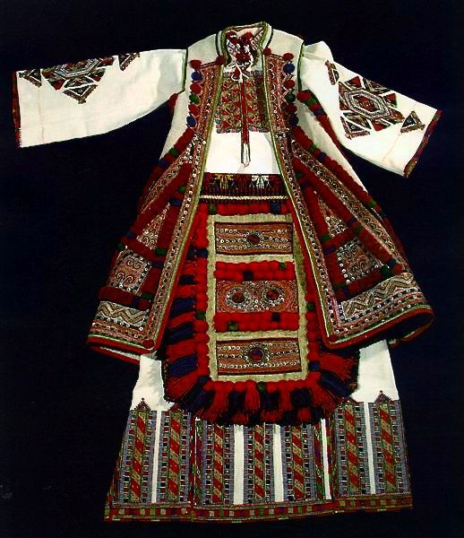 Women's festive dress @ the Museum of Macedonia
