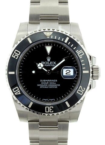 Rolex Submariner Steel Onyx Dial / Black Bezel - WOW | Limited Watches | Buy New & Used Rolex Watches
