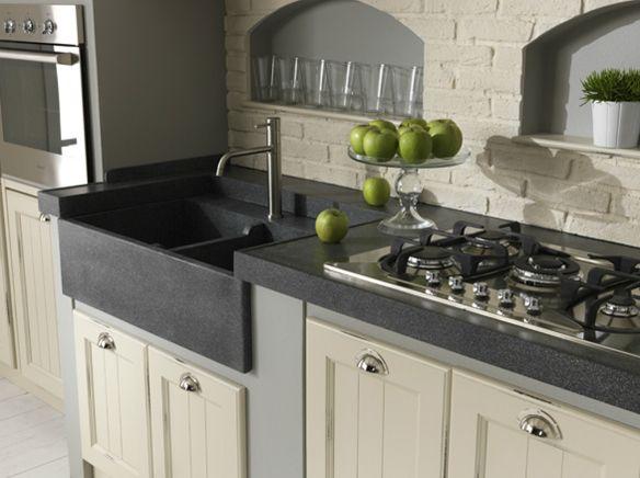 cucina in muratura ceramica con limoni - Cerca con Google