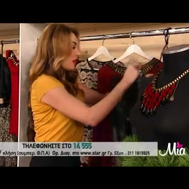 Klaidra burgundy *velvet drops* necklace at MIA, Star Channel #klaidrajewelry