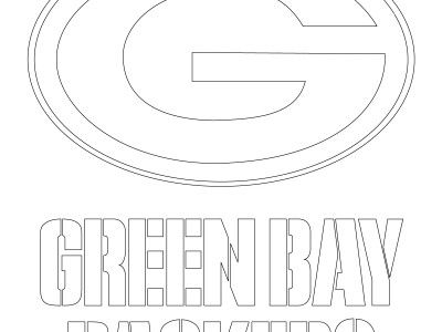 green bay logo coloring pages - photo#11