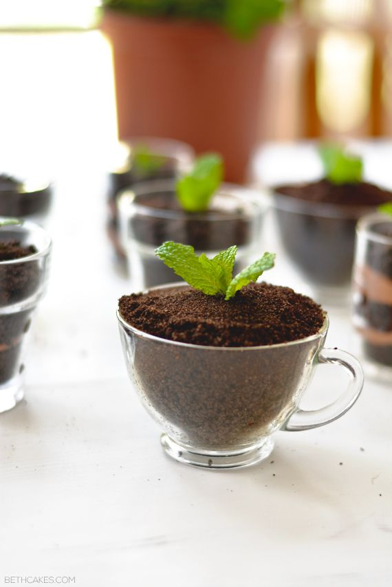 Spoon 1 Tbsp. cookie crumbs into each of 8 (6-oz.) dessert cups; top with layers of 1/4 cup vanilla pudding, 1 Tbsp. cookie crumbs and 1/4 cup chocolate pudding. Sprinkle with remaining cookie crumbs. Refrigerate 1 hour.