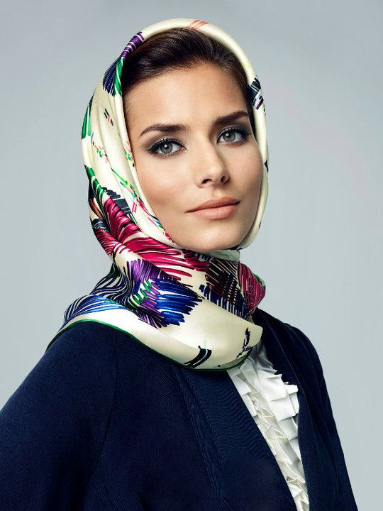 Isolated cutout mature muslim lady wearing stock photo