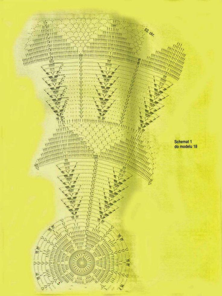 Вязание крючком и искусства: вязание крючком красивые скатерти