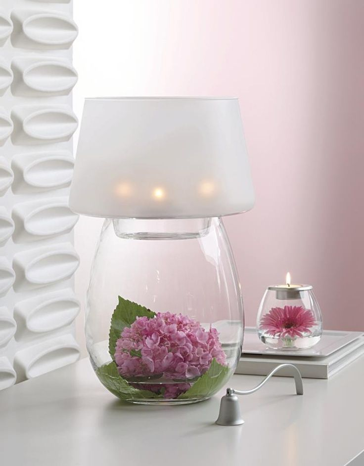 Marvelous Amazing 57 Unique Creative Table Lamp Concepts : 57 Unique Table Lamp  Designs With Flower Vase