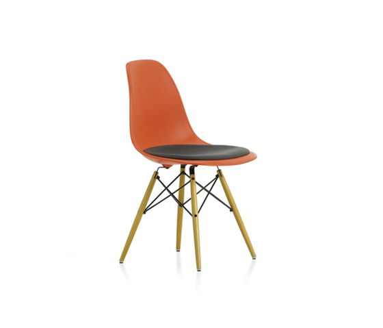 Vitra Eames Plastic Side Chair DSW | Charles U0026 Ray Eames | 1950 | Chair