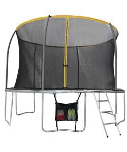 Sportspower 12ft Trampoline and Enclosure.