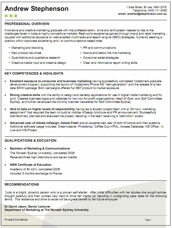 How To Write A Resume Nsw - Opinion of professionals