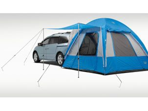 A tent is an option for the Honda Odyssey