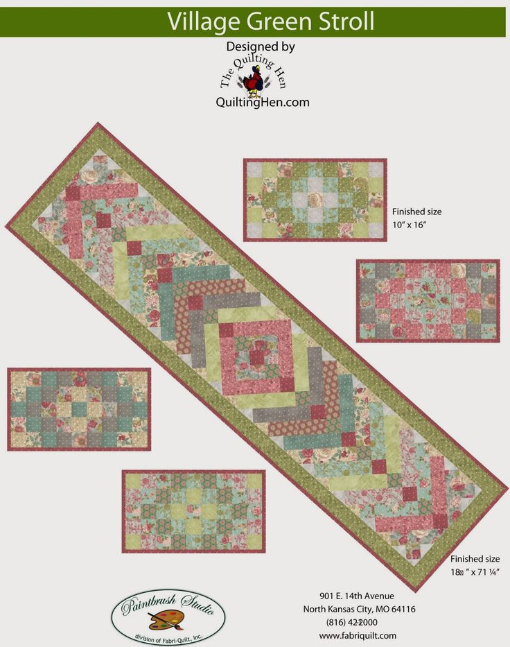 http://inspiredbyfabric.blogspot.com/p/free-quilt-patterns.html
