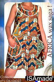 robe mode africaine ~African fashion, Ankara, kitenge, African women dresses, African prints, African men's fashion, Nigerian style, Ghanaian fashion ~DKK