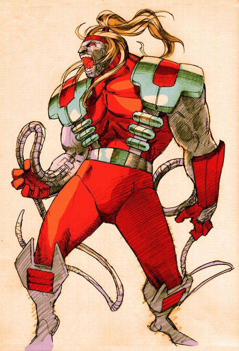 Omega Red by Bengus