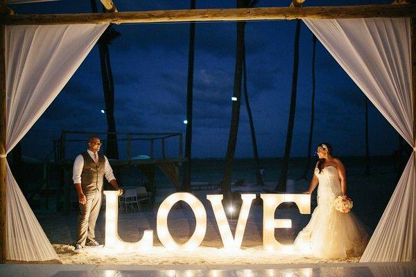 Natasha, Evan and Bryant Destination Wedding at Jellyfish Restaurant, Punta Cana